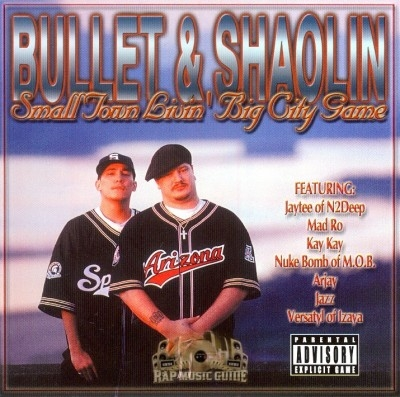 Bullet & Shaolin - Small Town Livin', Big City Game