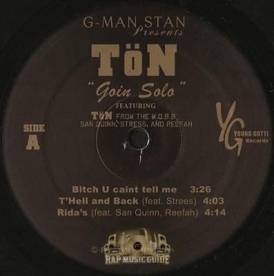 Ton of Tha M.O.B.B. - Goin Solo