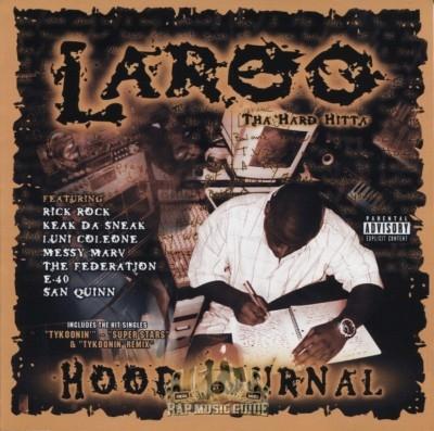 Laroo The Hard Hitta - Hood Journal