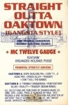 MC Twelve Gauge - Straight Outta Oakland [Gangsta Style]