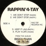 Rappin' 4-Tay - Bigga Than Da Game EP