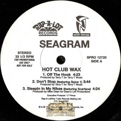 Seagram - Hot Club Wax