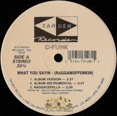 C-Funk - What You Sayin (Raggamuffunkin)
