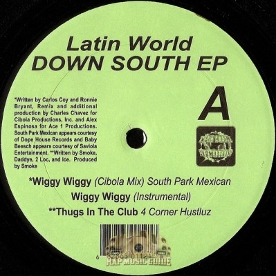Latin World - Down South EP