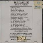 KRS-One - The Krstyle (Advance Promo)