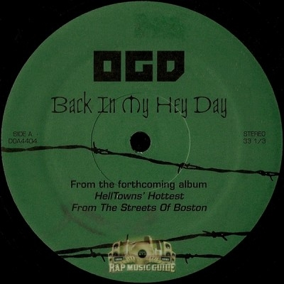 OGD - Back In My Hey Day