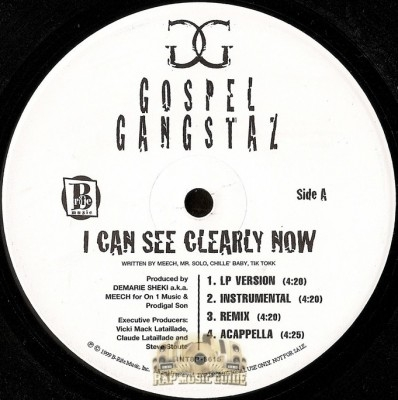 Gospel Gangstaz - I Can See Clearly Now