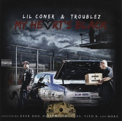 Lil Coner & Troublez - My Heart's Black