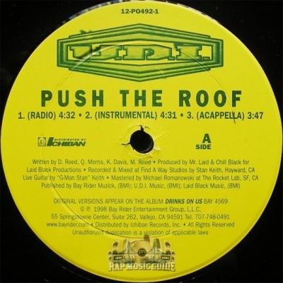 U.D.I. - Push The Roof