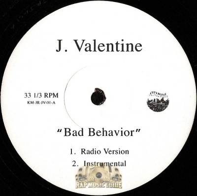 J. Valentine - Bad Behavior