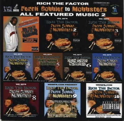 Rich The Factor - Peach Cobbler To Mobbsters: All Featured Music 2