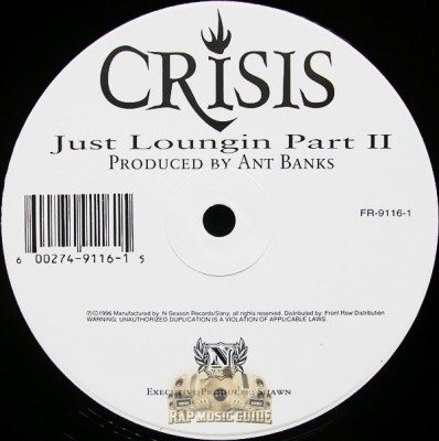 Crisis - Just Loungin Part II