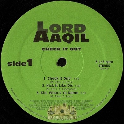 Lord Aaqil - Check It Out