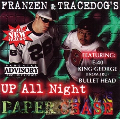 Franzen & Trace Dog - Up All Night Paperchase