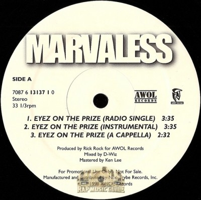 Marvaless - Eyez On The Prize