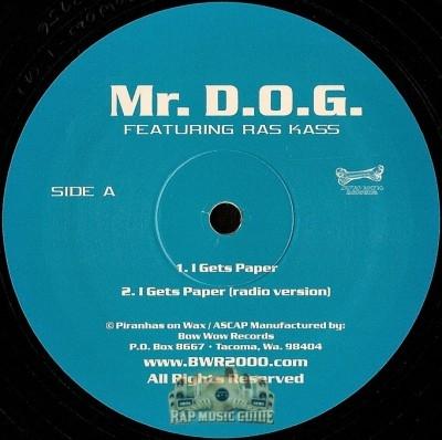 Mr. D.O.G. - I Gets Paper / Playa-Playa