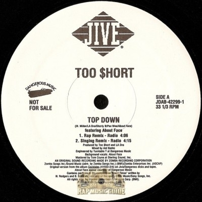 Too Short - Top Down