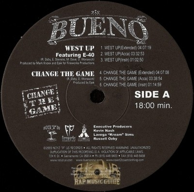 Bueno - West Up