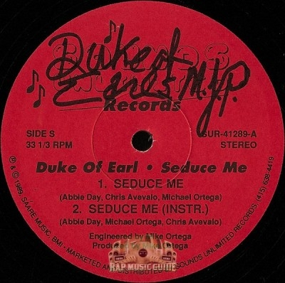 Duke Of Earl - Seduce Me