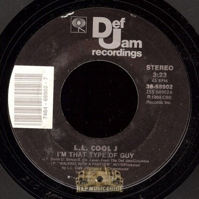 L.L. Cool J - I'm That Type Of Guy/ It Gets No Rougher