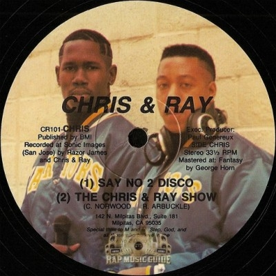 Chris & Ray - Say No 2 Disco