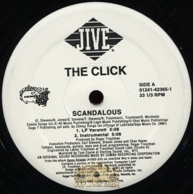 The Click - Scandalous/Wolf Tickets