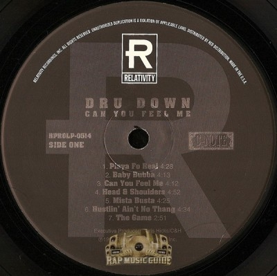 Dru Down - Can You Feel Me (Clean Album)
