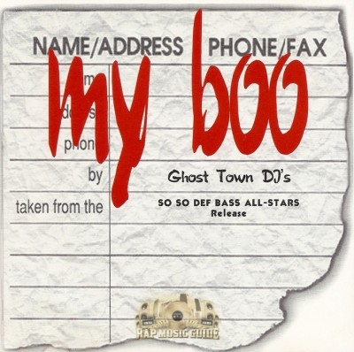 Ghost Town DJ's - My Boo