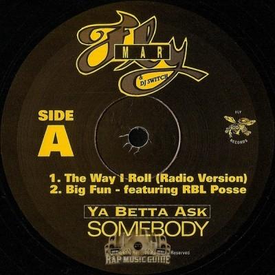 Fly Mar - Ya Betta Ask Somebody EP