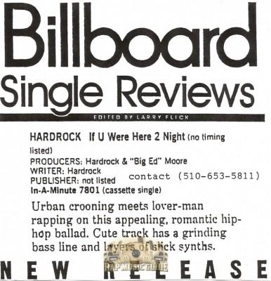 Hardrock - If U Were Here 2 Night
