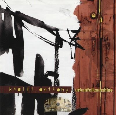 Khalil Anthony - Urbanfolksunshine