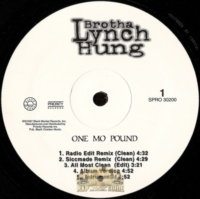 Brotha Lynch Hung - One Mo Pound