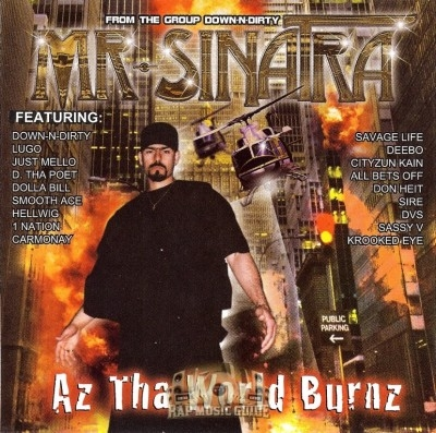 Mr. Sinatra - Az Tha World Burnz
