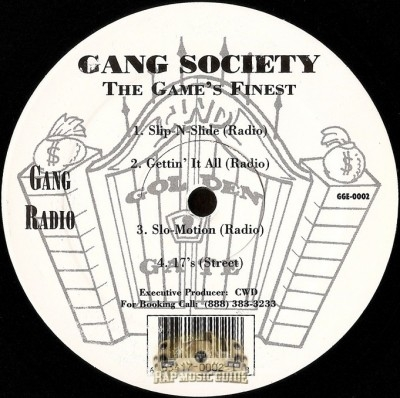 Gang Society - The Game's Finest