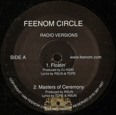 Feenom Circle - Floatin' / Masters of Ceremony