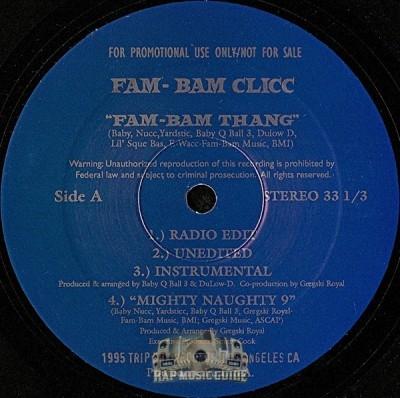 Fam Bam Clicc - Fam Bam Thang