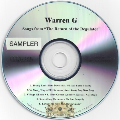 Warren G - The Return Of The Regulator (Sampler)