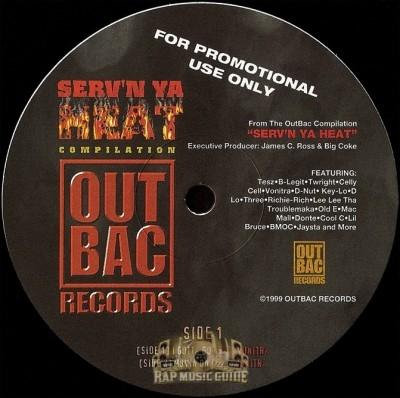 Serv'n Ya Heat - I Gotta Go / Movin On