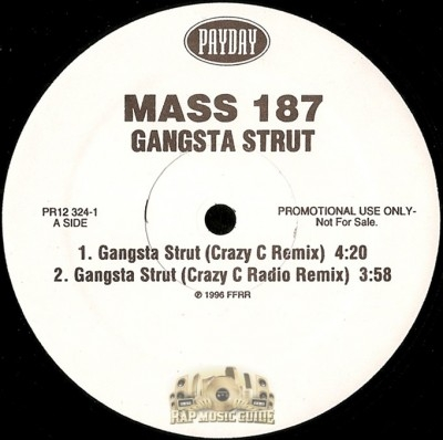 Mass 187 - Gangsta Strut
