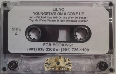 Lil Yo - Youngsta's On A Come Up