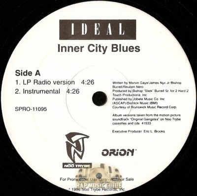 Ideal / 3x Krazy - Inner City Blues / Flowamatic 9
