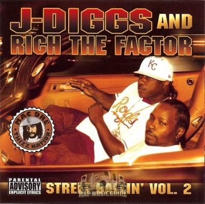 J-Diggs & Rich The Factor - Street Ballin' Vol. 2