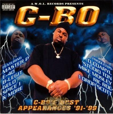 C-Bo - C-Bo's Appearances '91-'99