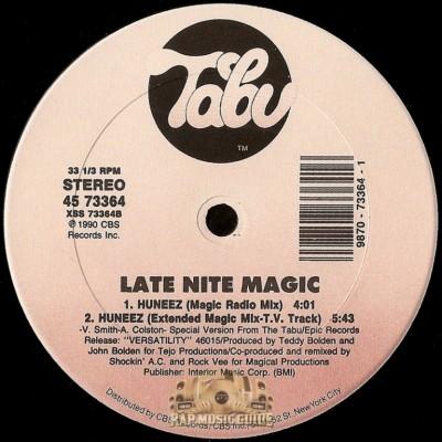 Late Nite Magic - Huneez