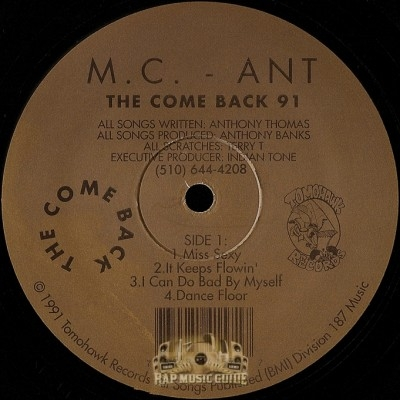 MC Ant - The Come Back 91