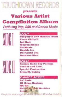 Touchdown Records - Various Artist Compilation Album