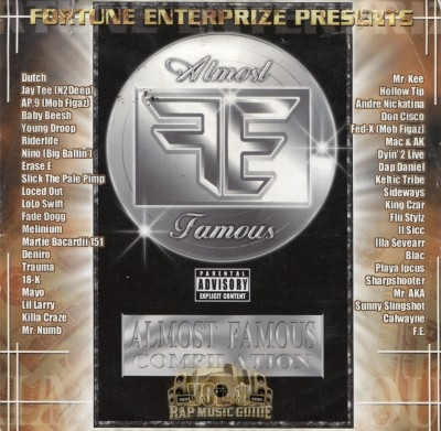 Fortune Enterprize Presents - Almost Famous Compilation Vol. 1