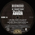 Rondo & Crazy Rak - Mr. & Mrs. Abuser