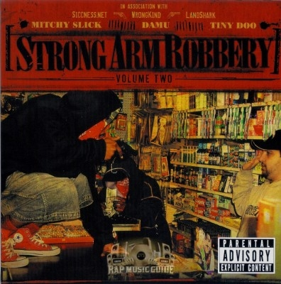 Mitchy Slick, Damu, Tiny Doo - Strong Arm Robbery Volume 2