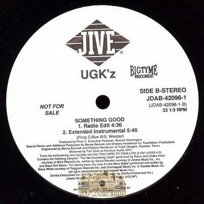 UGK - Something Good